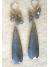 Perfect Labradorite Confetti Drop Earrings