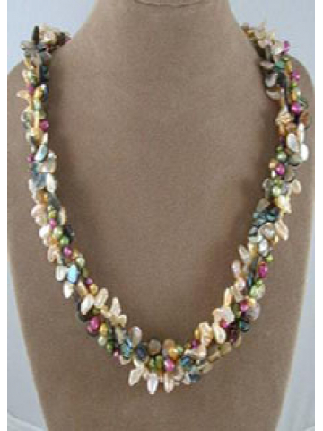 Pearl and Abalone Lei