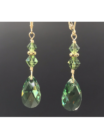 Ernite 14K Gold Filled Drop Earrings